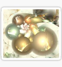 Bronze Marble Spheres Sticker