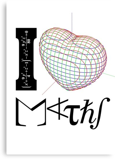 I (love) Maths by tudi