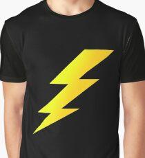 Zap Bang Cartoon Lightening Bolt Cell Phone Case Graphic T-Shirt