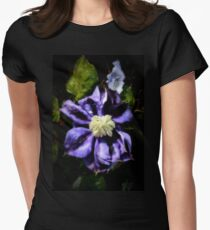 Clematis Proteus Womens Fitted T-Shirt