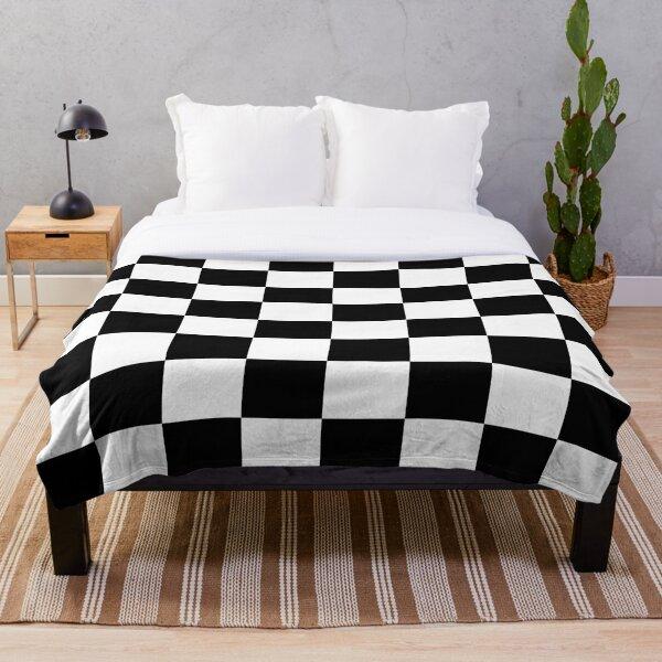 Chequered Flag Checkered Racing Car Winner Bedspread Duvet Phone Case Throw Blanket
