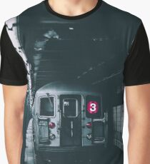 New York Subway Graphic T-Shirt