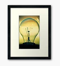 Mental Filament Framed Print