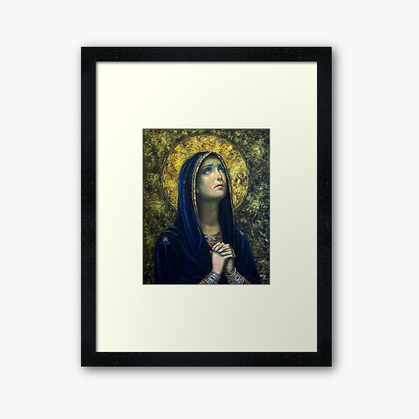 Our Lady of Sorrows Framed Art Print