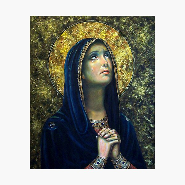 Our Lady of Sorrows Photographic Print