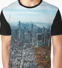 New York Central Park Graphic T-Shirt