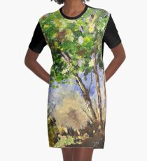 The beauties of Nature Graphic T-Shirt Dress