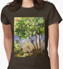 The beauties of Nature Women's Fitted T-Shirt