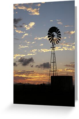 Days End, Central Queensland by Lisa Evans