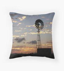 Days End, Central Queensland Throw Pillow