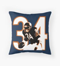 WALTER PAYTON Throw Pillow