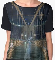 Brooklyn Bridge Women's Chiffon Top