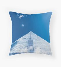 World Trade Centre Throw Pillow