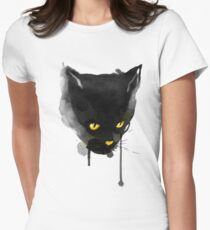 sumi cat Womens Fitted T-Shirt
