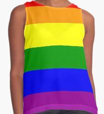 GAY, Gay Pride, Rainbow Flag, LGBT, pride, flag, Contrast Tank