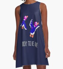 Ducky to be alive A-Line Dress