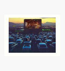 Islamabad Stellar Drive-in Lollywood Perfectlymadebirds Film Spectacular Art Print