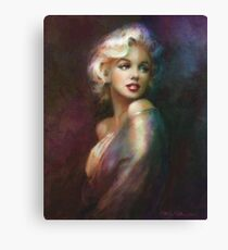 Theo Danella´s Marilyn WW colour Canvas Print