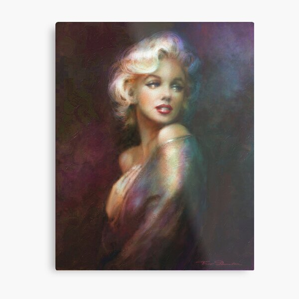 Theo Danella´s Marilyn WW colour Metallbild