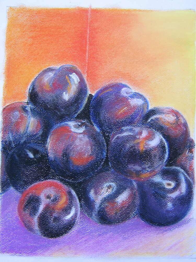 Plums by ValM