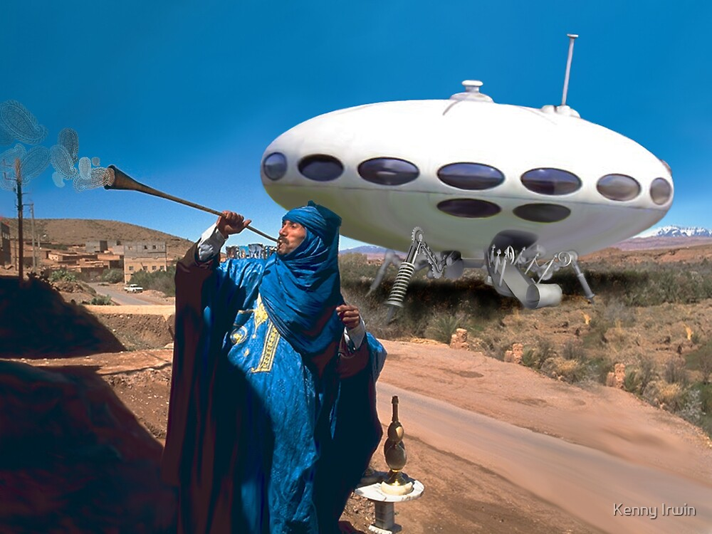 Royal Moroccan UFO by Kenny Irwin