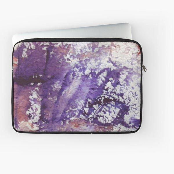 Huma. Watercolor Name. Laptop Sleeve