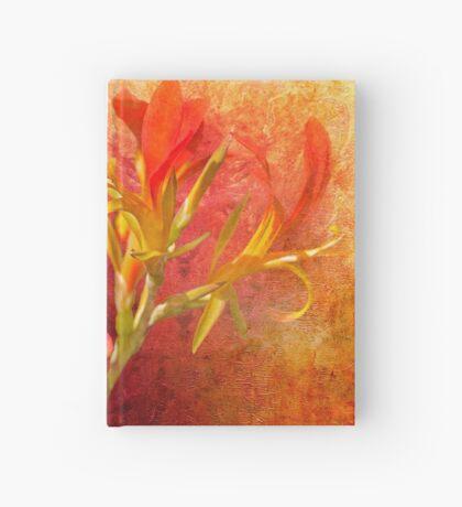 Gilded Scarlet Hardcover Journal