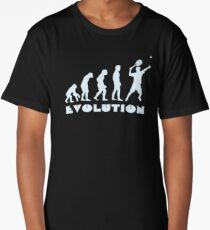 Evolution of Tennis Long T-Shirt