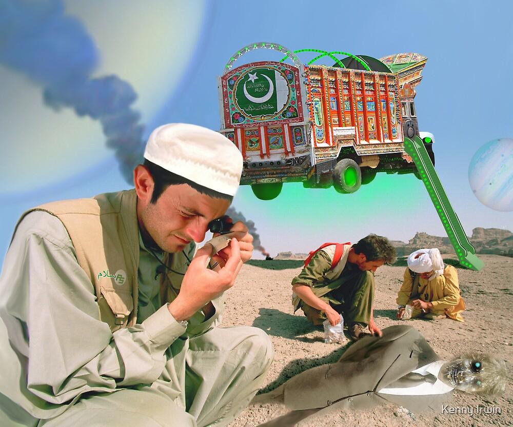 Pakistani Starfleet Astro Archeologists by Kenny Irwin