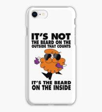Dexter's beard iPhone Case/Skin