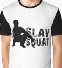 Slav Squat Graphic T-Shirt