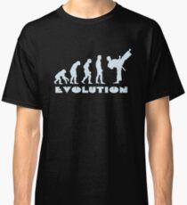 Evolution of Martial Arts Classic T-Shirt