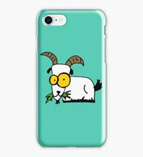 funny goat iPhone Case/Skin