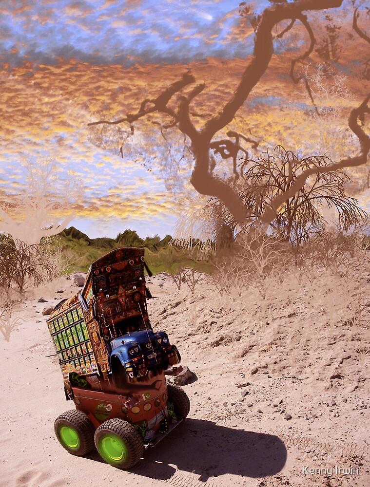 Pakistani Interstellar Bedford Rover by Kenny Irwin