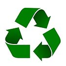 Universal recycle icon by Colin Cramm