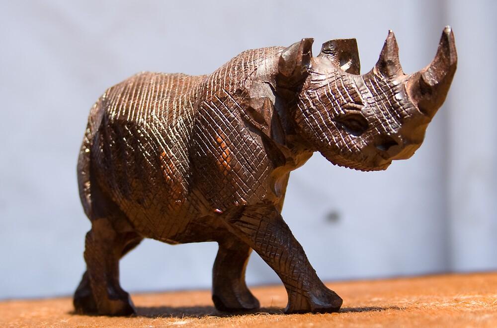 Big Five - Rhino by Paul Lindenberg