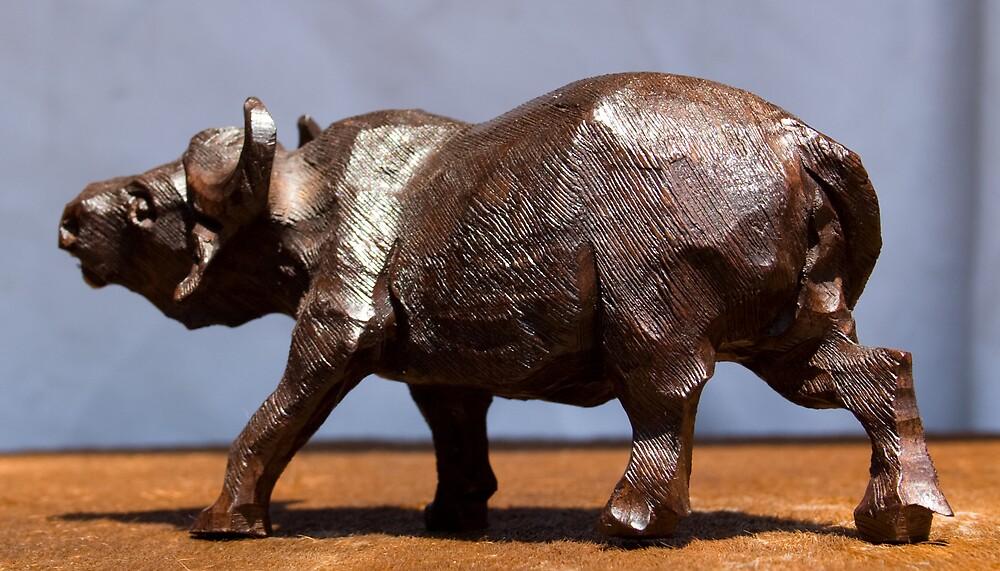Big Five - Buffalo by Paul Lindenberg