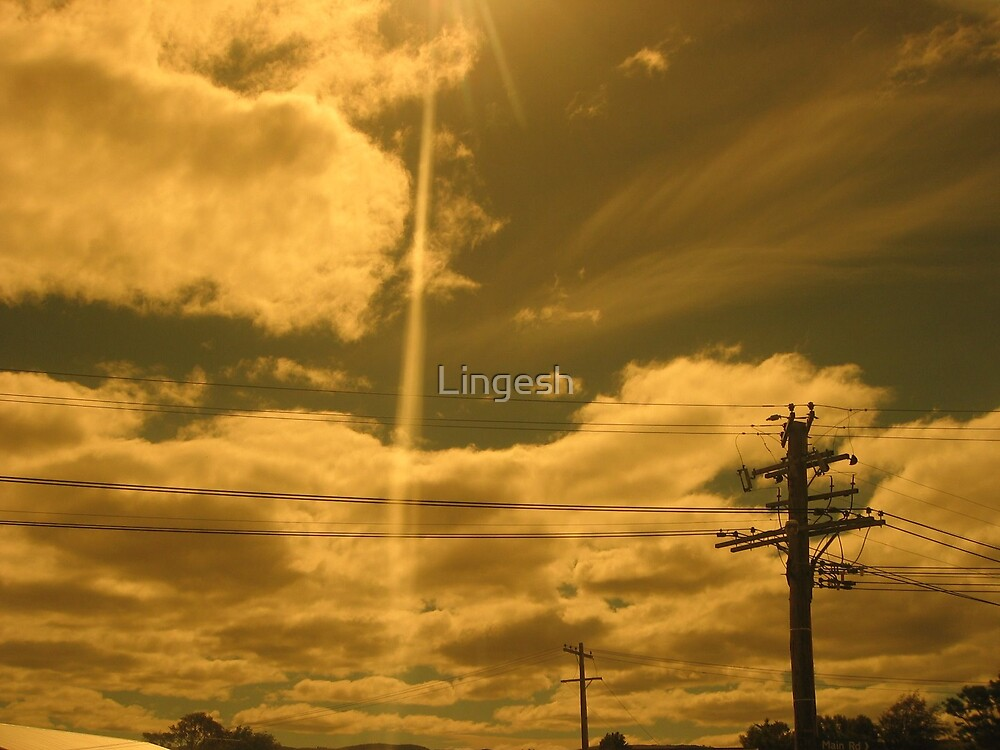 Sun made miracle by Lingesh