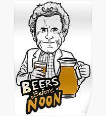 Beers before Noon Poster