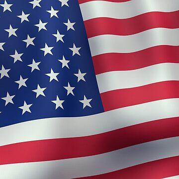 American flag by Noedelhap