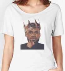 King Lebron James Women's Relaxed Fit T-Shirt