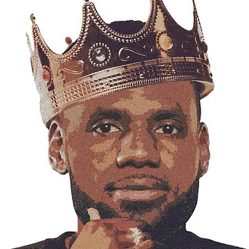 King Lebron James by Sndn