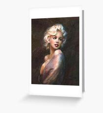 Marilyn WW Romantic Soft Greeting Card
