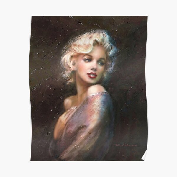 Marilyn WW Romantic Soft Poster