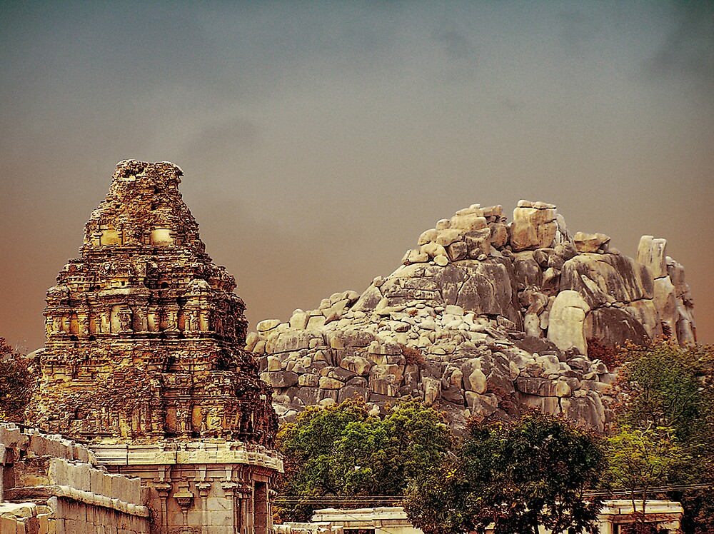 hampi gopuram by neil davis