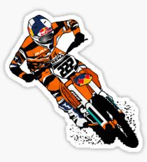 Moto Cross Racing Sticker