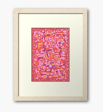 1810 - Into The Red 13 Framed Print