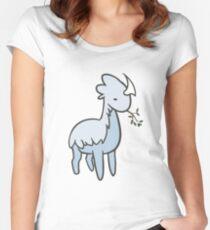 Thrumbo Rimworld Fitted Scoop T-Shirt