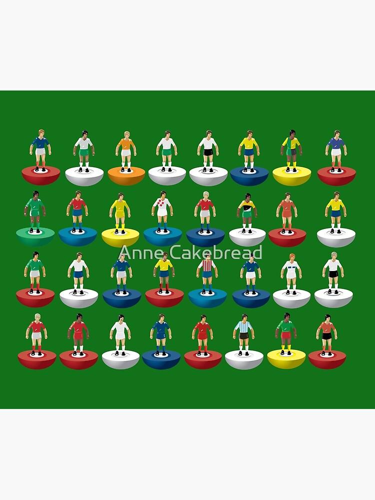 World Subbuteo players by YSied