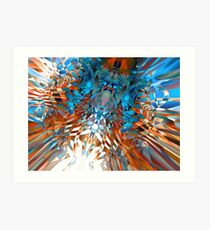 conglomerate too Art Print
